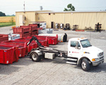 Hook Lift Roll Off Dumpster Truck